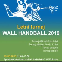 Letní turnaj Wall Handball 2019