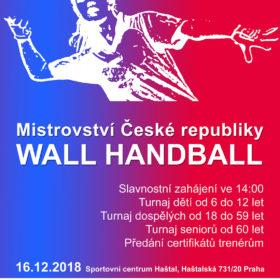 Mistrovství ČR Wall Handball 2018