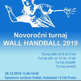 Novoroční turnaj Wall Handball 2019