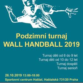 Podzimní turnaj Wall Handball 2019