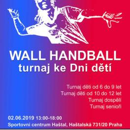 Wall Handball - turnaj ke dni dětí 2019