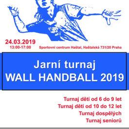 Wall Handball - jarní turnaj 2019