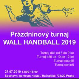 Prázdninový turnaj Wall Handball 2019